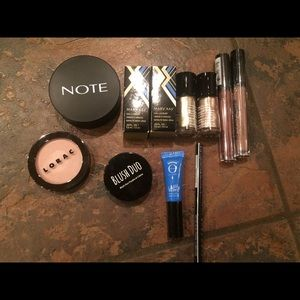 New makeup lot Lorac nyx note